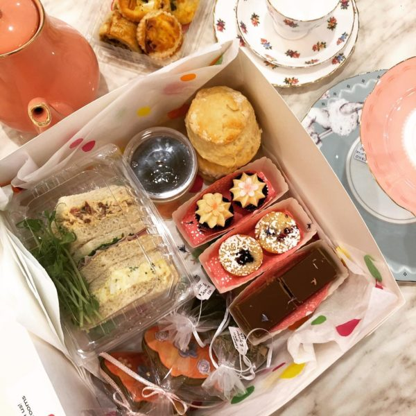 takeaway tea party box in perth